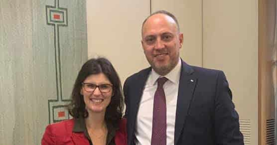 Dr-Zomlot-meets-Layla-Moran,-the-first-UK-MP-of-a-Palestinian-origin