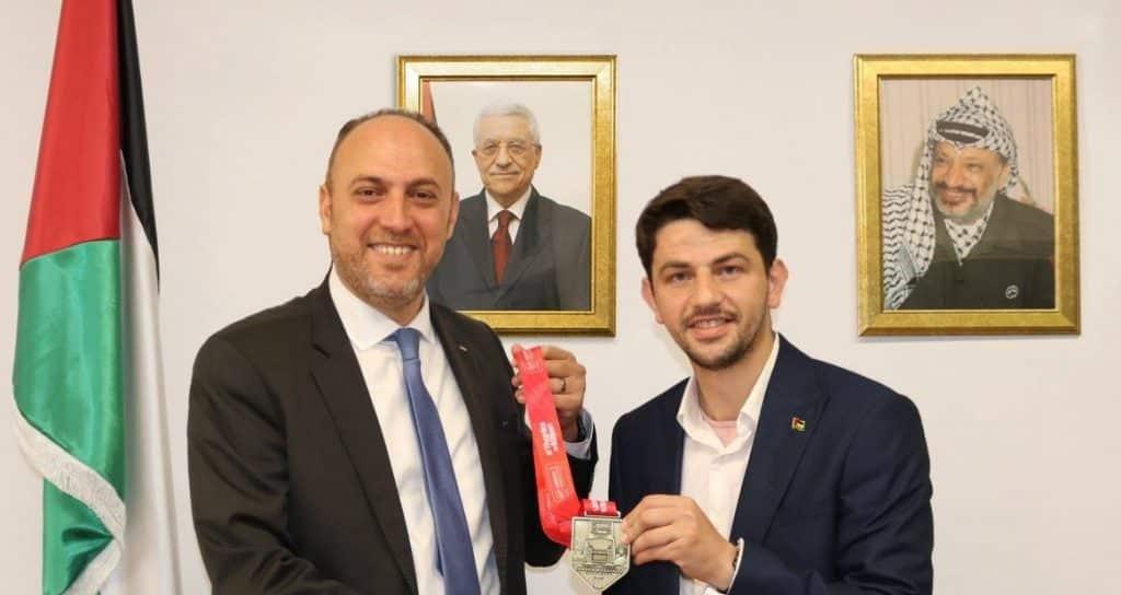 Palestine represented at London Marathon 2019