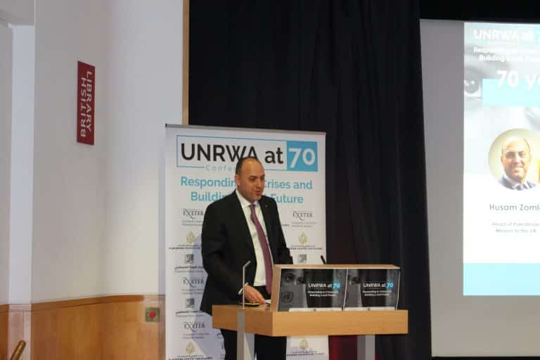 International Conference On UNRWA By The Palestinian Return Centre 01