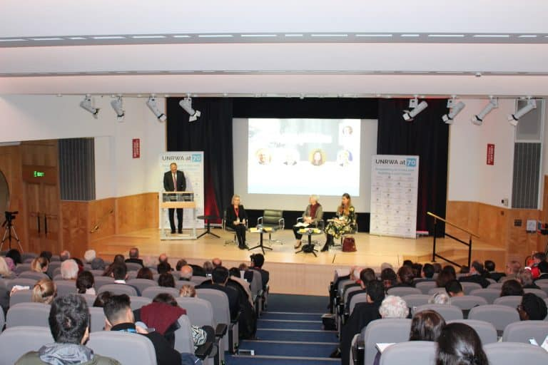 International Conference On UNRWA By The Palestinian Return Centre 12