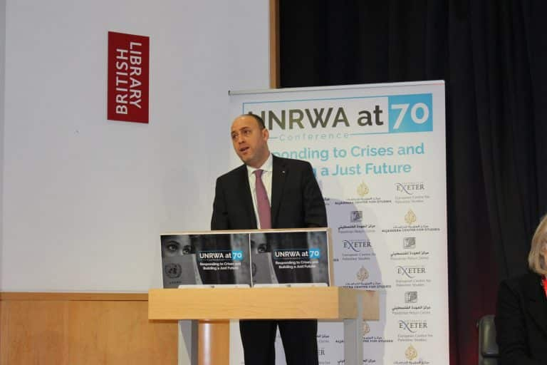 International Conference On UNRWA By The Palestinian Return Centre 16