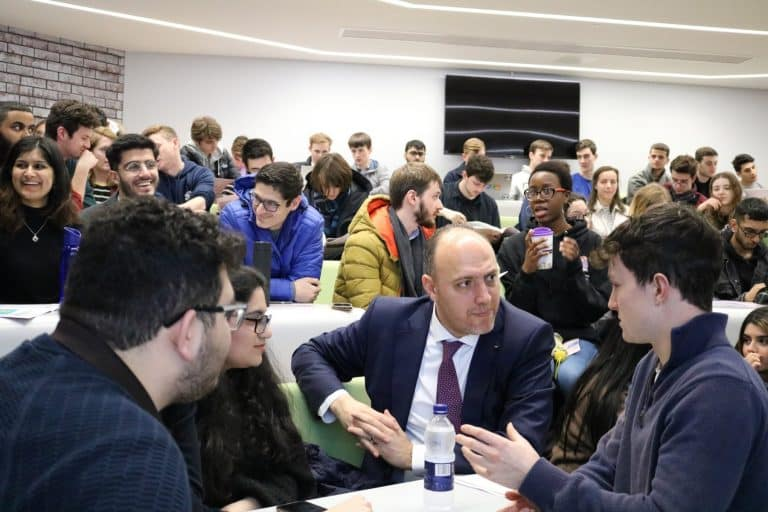 H.E. Dr. Husam Zomlot Gives A Lecture In The University Of Warwick 03
