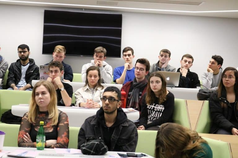 H.E. Dr. Husam Zomlot Gives A Lecture In The University Of Warwick 07