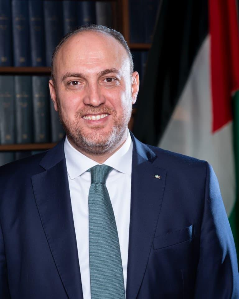 PalestineAmbassadorHusamZomlot